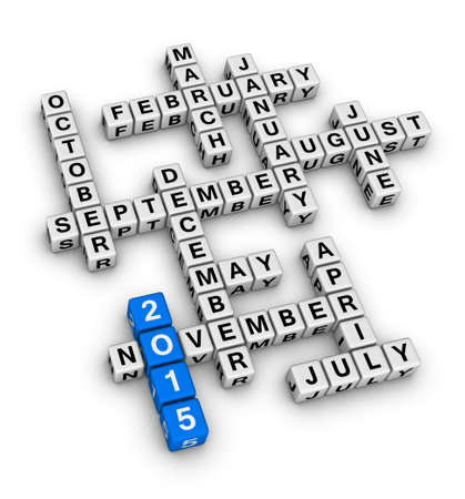 months of the year crossword puzzle photo