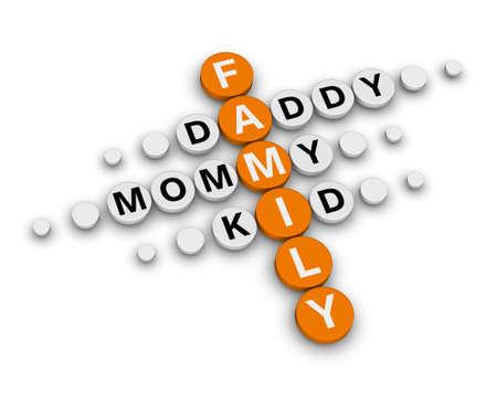 crossword puzzle: family crossword puzzle