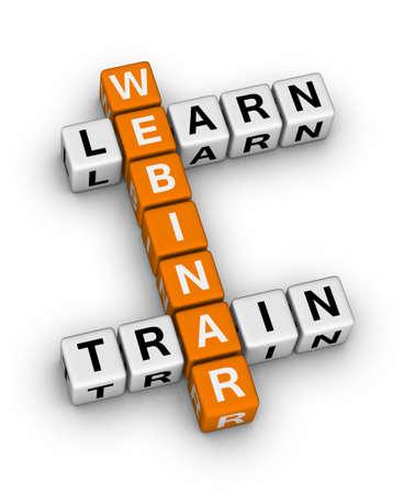 webinar: webinar train and learn crossword puzzle