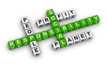 social responsibility crossword puzzle photo