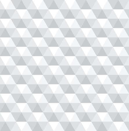 Eenvoudige geometrische vector achtergrond, naadloos patroon Stock Illustratie