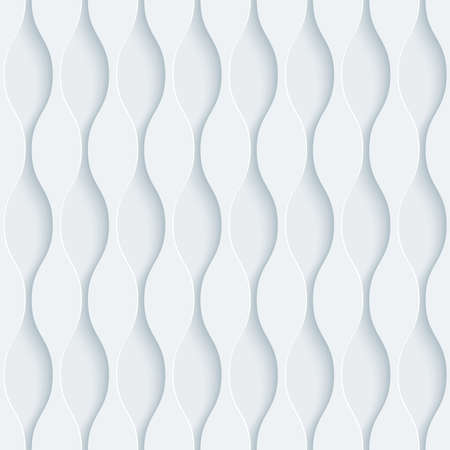 embossed: White perforated paper with cut out effect. Abstract 3d seamless background.