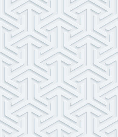 perforated surface: White perforated paper with cut out effect. Abstract 3d seamless background.