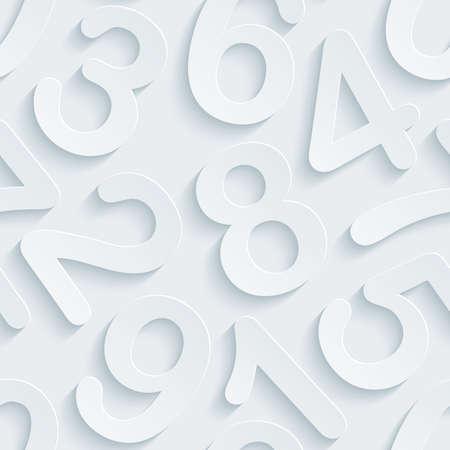 잘라 효과와 흰색 천공 종이. 추상 3d 원활한 배경입니다. 일러스트