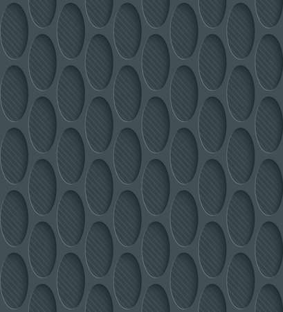 carbon neutral: Dark perforated paper with cut out effect. Abstract 3d seamless background. Vector EPS10.