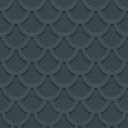 snake origami: Abstract 3d seamless background.  Illustration