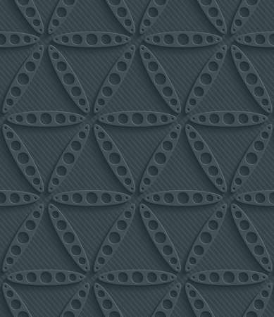 perforated: Dark perforated paper with cut out effect. Abstract 3d seamless background.