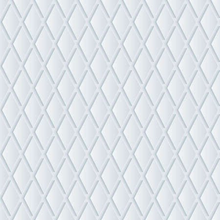 industrial decor: White perforated paper with cut out effect. Abstract 3d seamless background.