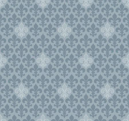 lys: Fleur-de-lis seamless wallpaper.