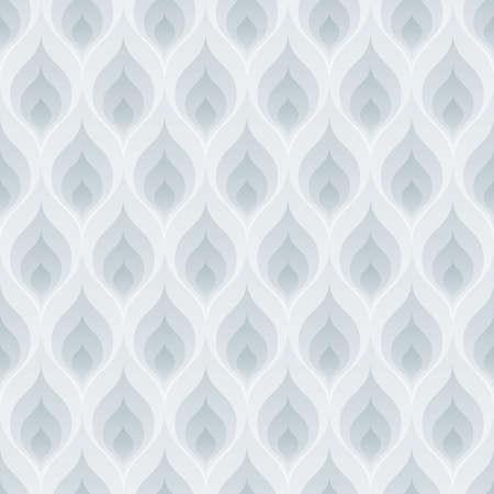 leaf pattern: Blue flame wallpaper. 3d seamless background. Vector EPS10.