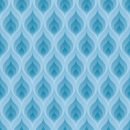 tileable: Blue flame wallpaper. 3d seamless background. Vector EPS10.