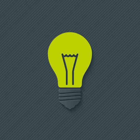 light bulb: Light bulb. Vector EPS10. Illustration
