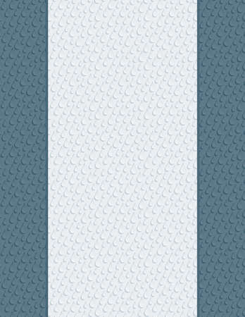 title page: Blank letter paper with 3D seamless texture for cover or title page Stock Photo
