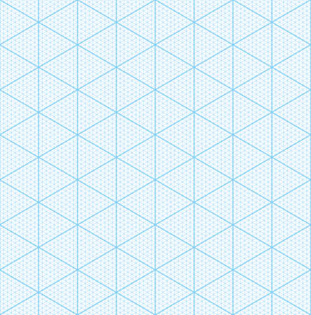 Isometric Graph Paper For D Design Seamless Vector Pattern Stock