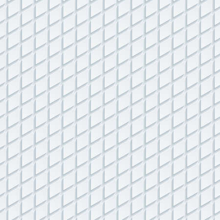 perforated: Abstract hi-tech geometric seamless pattern. Neutral tileable background of rhombus. Vector EPS10.