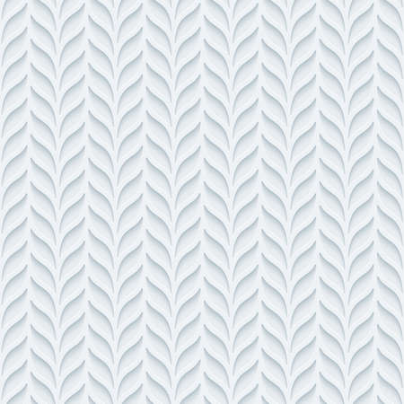 perforated: Foliage semless background. Neutral tileable pattern of vertical lines of leaves. Vector EPS10. Illustration