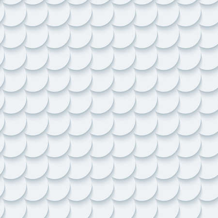 fish scale: Light gray fish scale seamless background. Neutral tileable pattern of fish scale. Vector EPS10. Illustration