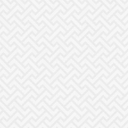 フラット スタイルのモダンなデザインの白い中立的なシームレス パターン。タイルの幾何学的ベクトルの背景。  イラスト・ベクター素材
