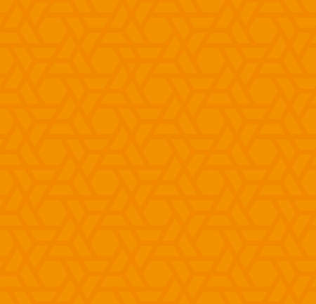 mesh: Orange Neutral Seamless Pattern for Modern Design in Flat Style. Tileable Geometric Vector Background. Illustration
