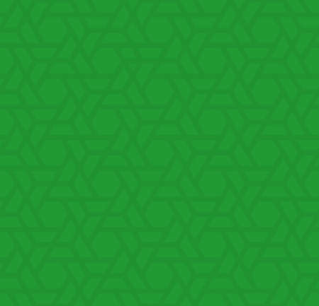 grass weave: Green Neutral Seamless Pattern for Modern Design in Flat Style. Tileable Geometric Vector Background. Illustration