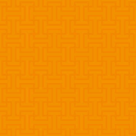 hot: Orange Neutral Seamless Pattern for Modern Design in Flat Style. Tileable Geometric Vector Background. Illustration