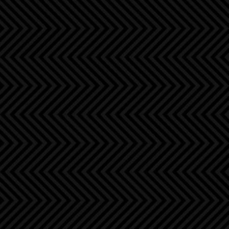 black fabric: Chevron Pattern. Black Neutral Seamless Pattern for Modern Design in Flat Style. Tileable Geometric Vector Background.