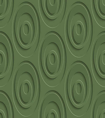mesh: 3D Seamless Pattern in Kale Color. Neutral Tileable Vector Background for Material Design. Kale is color of 2017 year.