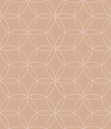 royal: Neutral Seamless Linear Pattern. Tileable Geometric Outline Ornate. Vintage Flourish Vector Background.