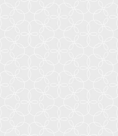 tileable: Neutral Seamless Linear Pattern. Tileable Geometric Outline Ornate. Vintage Flourish Vector Background.