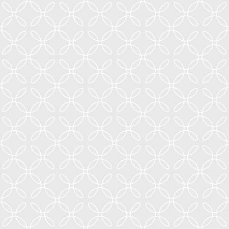 scrollwork: Neutral Seamless Linear Pattern. Tileable Geometric Outline Ornate. Vintage Flourish Vector Background.