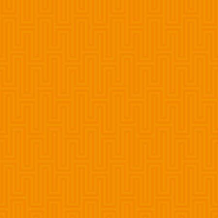 waveform: Orange Waveform seamless pattern. Neutral tileable linear vector background. Illustration