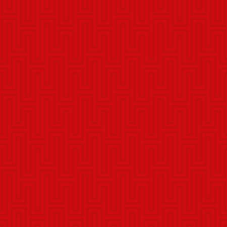 waveform: Red Waveform seamless pattern. Neutral tileable linear vector background.