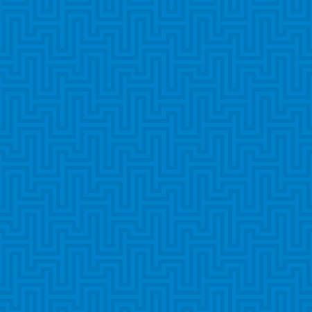 waveform: Blue Waveform seamless pattern. Neutral tileable linear vector background.