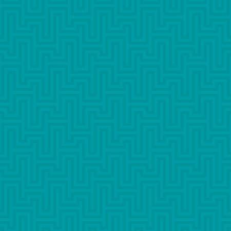 waveform: Turquoise Waveform seamless pattern. Neutral tileable linear vector background. Illustration