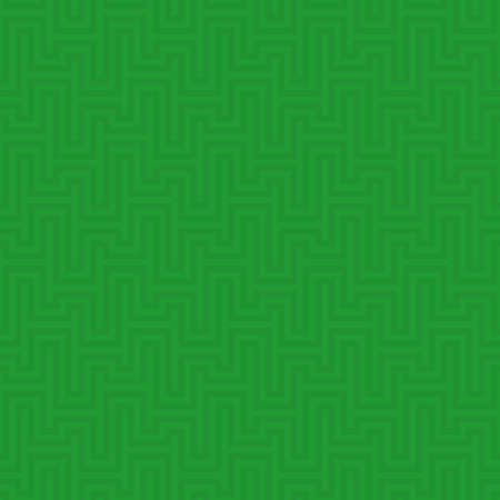 waveform: Green Waveform seamless pattern. Neutral tileable linear vector background. Illustration