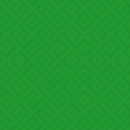 Green Checked Neutral Seamless Pattern for Modern Design in Flat Style. Tileable Geometric Vector Background.