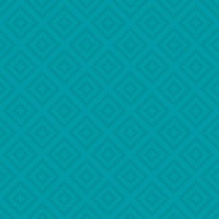 turquesa: Turquesa modelo de los cuadrados del arte del pixel. Modelo controlado inconsútil neutral por el diseño moderno en Plano Estilo. Enlosables fondo geométrica del vector. Vectores