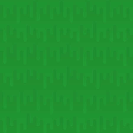 waveform: Waveform Irregular Rounded Lines Seamless Pattern. Green tileable vector background in flat style.