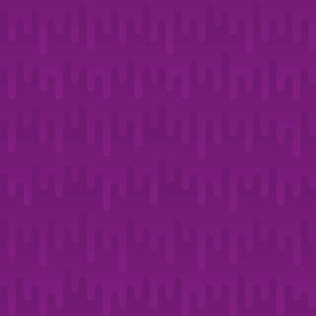 waveform: Waveform Irregular Rounded Lines Seamless Pattern. Purple tileable vector background in flat style.