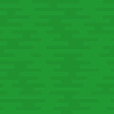 Ripple Irregular Rounded Lines Seamless Pattern. Green tileable vector background in flat style.
