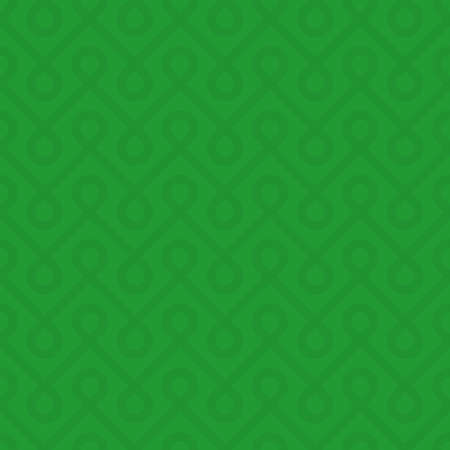 weaved: Green Linear Weaved Seamless Pattern. Neutal tileable vector background.