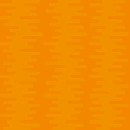 tortuous: Ripple Irregular Rounded Lines Seamless Pattern. Orange tileable vector background in flat style.