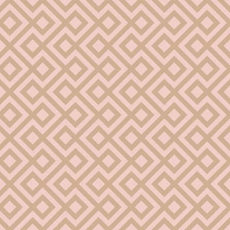 simple: Beige Linear Weaved Seamless Pattern. Neutal tileable vector background.