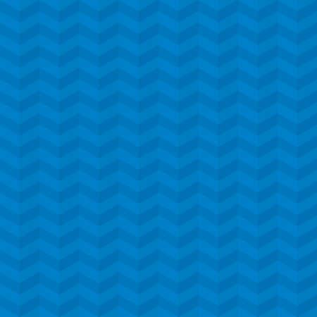 pleat: Blue Chevron Pattern. Neutral Seamless Herringbone Wallpaper Pattern for Modern Design in Flat Style. Tileable Geometric Tech Vector Background.
