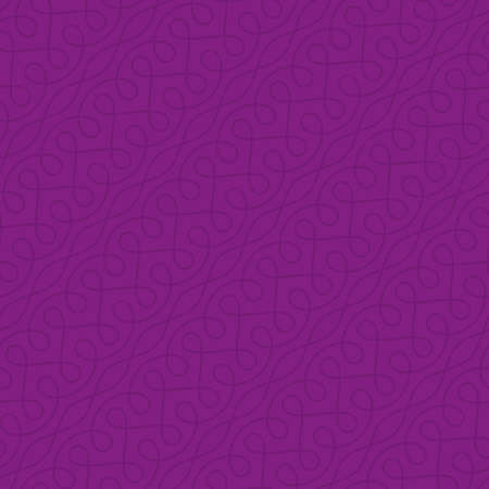 ornate swirls: Neutral Seamless Thin Swirls Pattern. Tileable Geometric Outline Ornate. Vintage Flourish Vector Background for Retro Design. Illustration