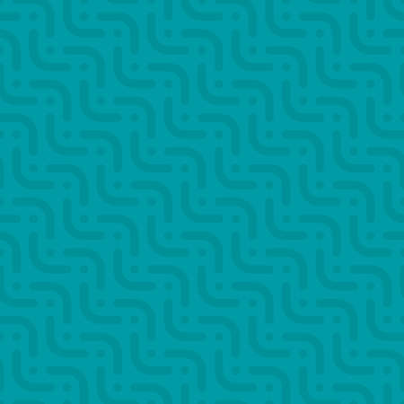 diagonal stripes: Herringbone neutral seamless pattern in flat style. Tileable vector web background in turquoise color.