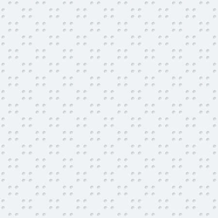 grid: Dots Seamless Wallpaper Pattern. Tileable vector texture with 3D effect.