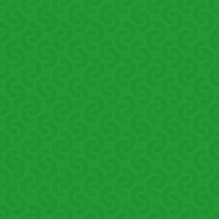 tile: Rounded lines seamless vector pattern. Neutral seamless vector background in green color.