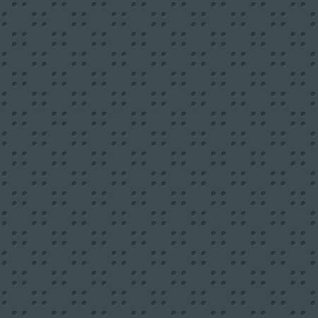 rivets: Dots Seamless Wallpaper Pattern. Tileable vector texture with 3D effect.
