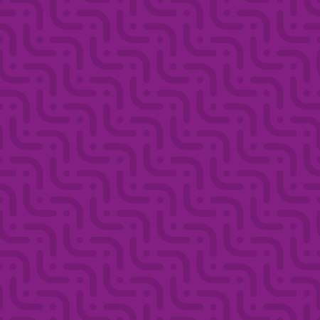 textured paper: Herringbone neutral seamless pattern in flat style. Tileable vector web background in purple color. Stock Photo